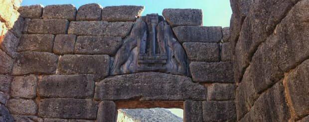 La Porta Dei Leoni - Sito Archeologico di Micene - Peloponneso - Grecia   Arché Travel Grecia