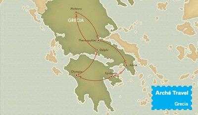 Tour Grecia Classica e Meteore - Tour Grecia Continentale | Arché Travel Grecia