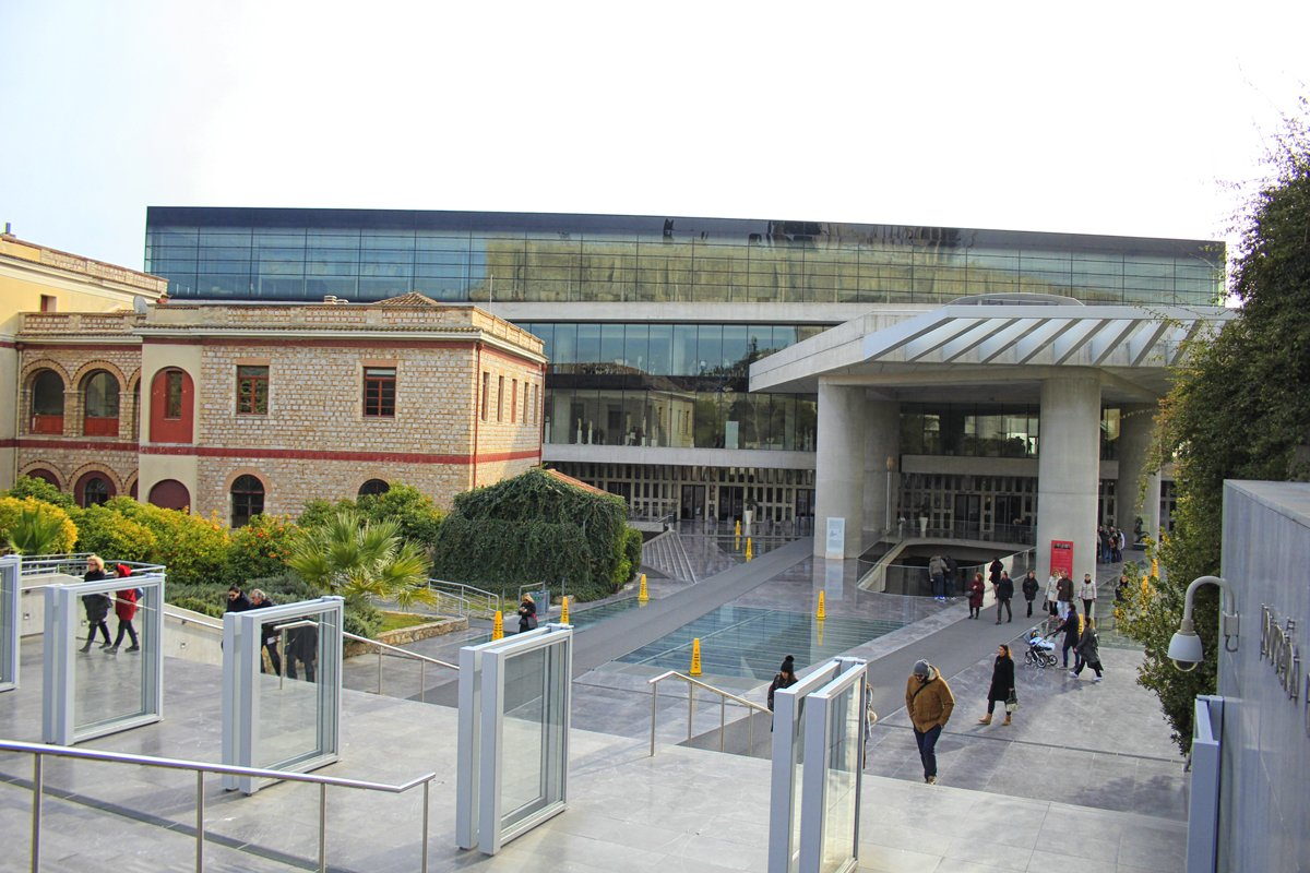 Il museo dell 39 acropoli atene arch travel grecia for Edificio di 10000 piedi quadrati