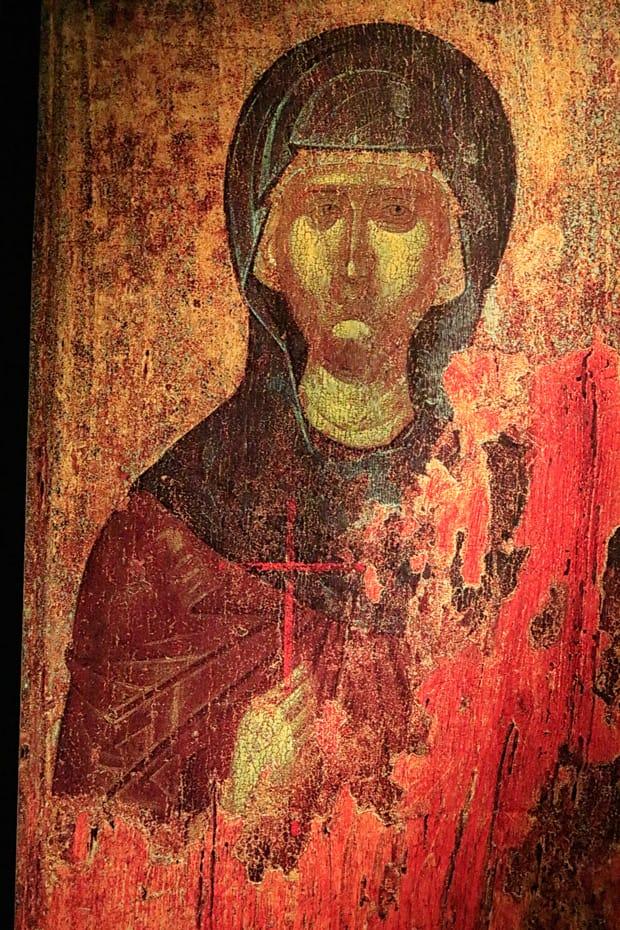 Atene-Museo-Benaki - Icona-di-Agia-Paraskevi