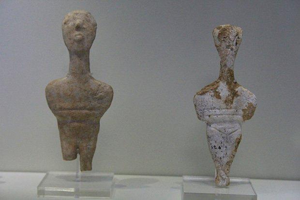 Statuine Cicladiche - Museo Archeologico di Heraklion Creta