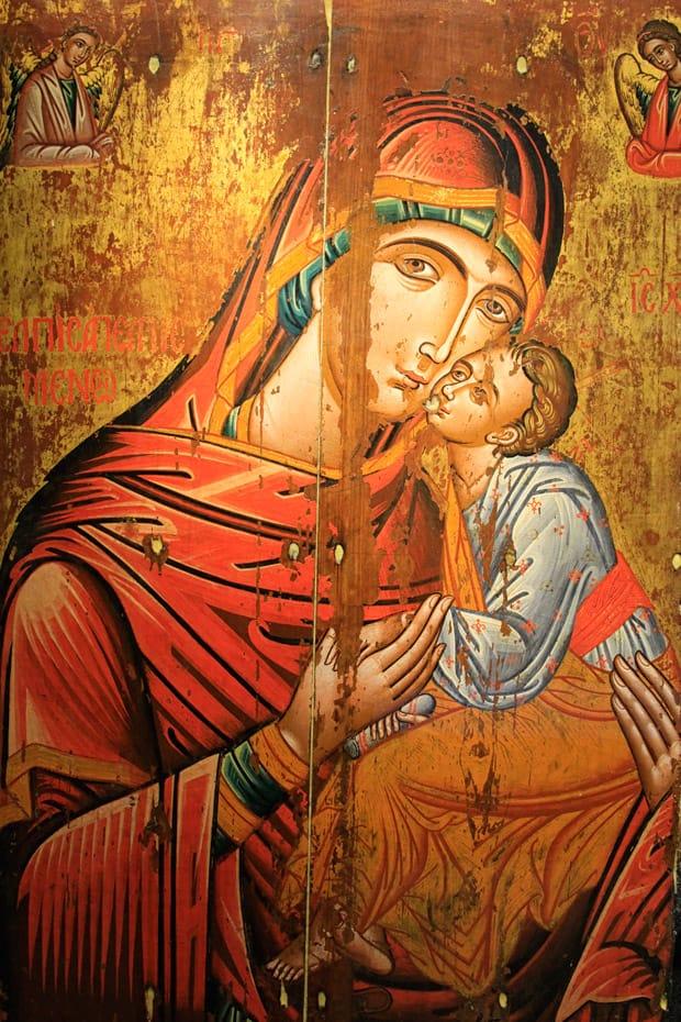 Icona-Vergine-Glykophilousa_monastero-di-arkadi_creta