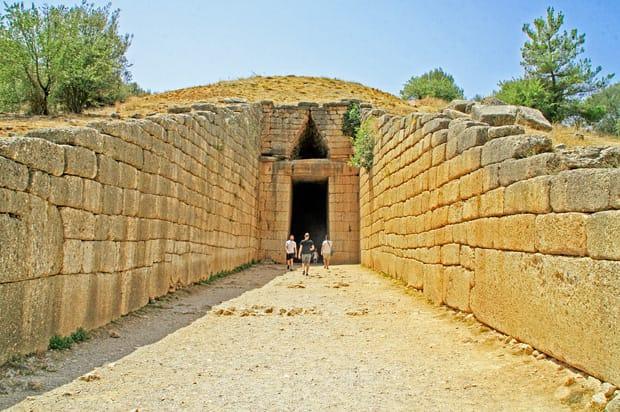 La Tomba di Agamennone - Tesoro di Atreo - Sito Archeologico di Micene - Grecia - Peloponneso - Argolide | Arché Travel Grecia