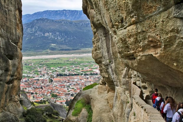 monasteri delle meteore grecia vista