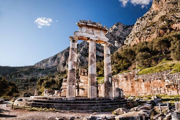 La Terrazza dei Marmi - Santuario di Delfi - Grecia Continentale - Arché Travel Grecia