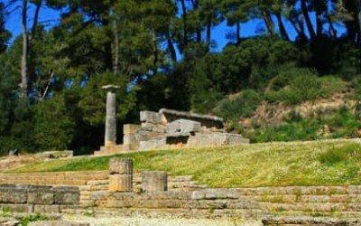 Tempio di Hera - Sito archeologico di Olimpia I Arché Travel Grecia