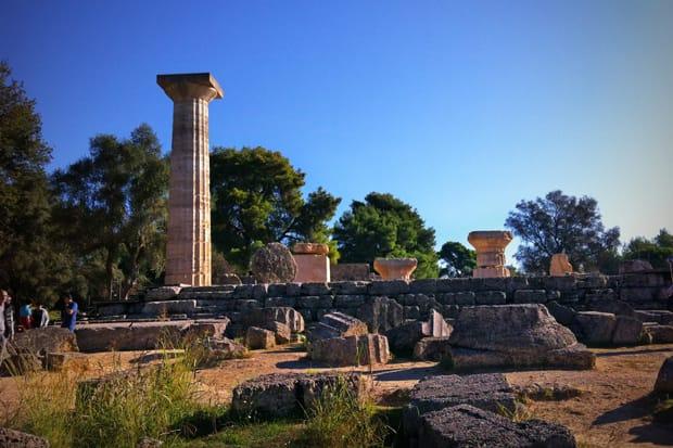 Tempio di Zeus - Sito archeologico di Olimpia I Arché Travel Grecia