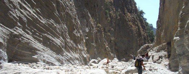 trekking gole di samaria creta