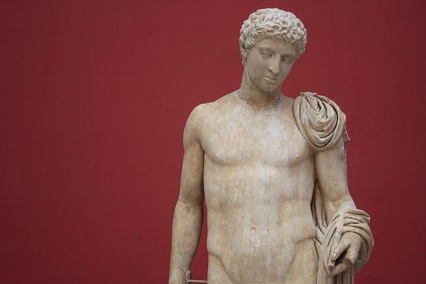 Statua di Hermes - Marmo di Penteli - Periodo Augusteo (27 a.C.-14 d.C.) - Museo Archeolgico Nazionale di Atene