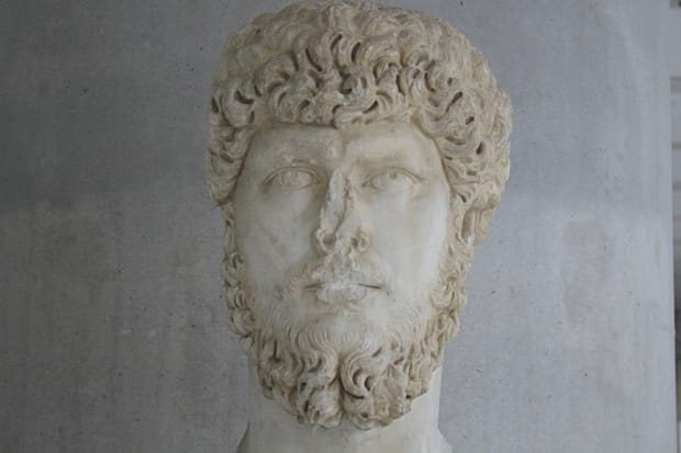 Atene Museo dell'Acropoli - Busto Imperatore Romano