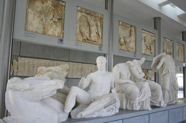 Atene Museo dell'Acropoli - Fregi Acropoli