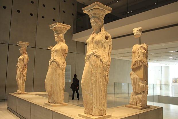 Atene Museo dell'Acropoli - Cariatidi