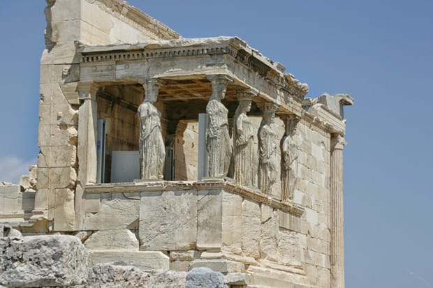 Cariatidi - Eretteo - Acropoli Atene