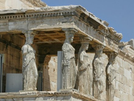 Cariatidi - Acropoli Atene - Eretteo