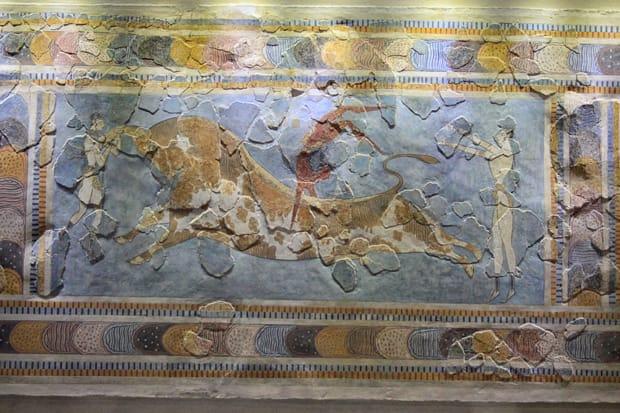 Taurocatapsia - Museo Archeologico di Heraklion Creta