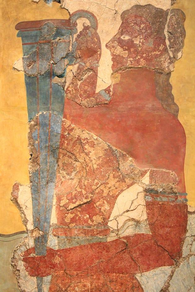 Affresco della coppiera - Museo Archeologico Heraklion Creta