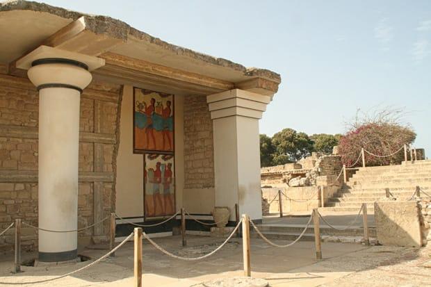 Propileo Sud - Palazzo di Cnosso - Heraklion - Creta - Grecia