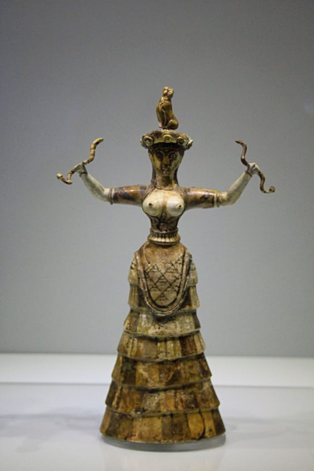 La-Dea-dei-Serpenti - Museo Archeologico di Heraklion Creta