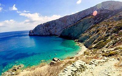guida folegandros spiagge - mappa spiagge folegandros grecia blog