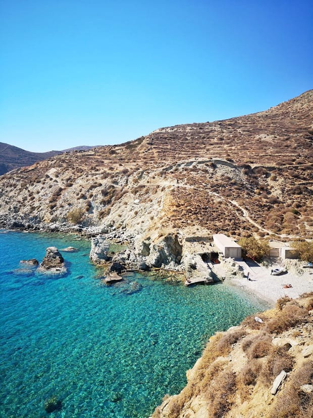 galifos beach folegandros